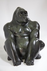 Seated Gorilla II